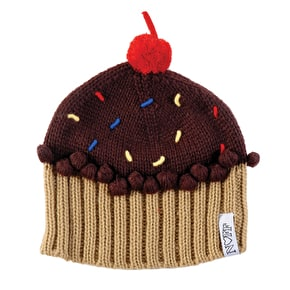 Neff Women's Wildstyle Cupcake Beanie - Chocolate